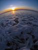 Foaming sunset
