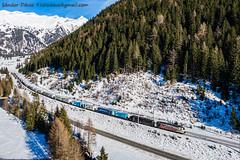 2019.12.29 | 189 901+189 xxx | Mallnitz (Davee91) Tags: mallnitz lokomotion trenuri marfar güterzug siemens tauernbahn tauern tehervonat austria intermodal zug vlak vlaky