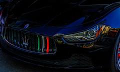 Maserati (Jeffrey Balfus (thx for 6 Million views)) Tags: yellow sonya9 ilce9 fe2470mmf28gm sel2470gm grill metallic maserati vividstriking