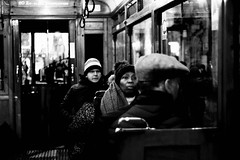 Winter in Amsterdam (Remuz59Photography) Tags: streetphotography streetphoto amsterdam straatfoto blackandwhite fujilove