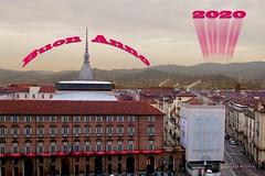 BUON ANNO A TUTTI (ADRIANO ART FOR PASSION) Tags: torino piemonte palazzomadama torre teatroregio moleantonelliana