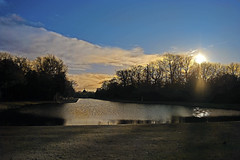Scenic View (nickym6274) Tags: wrestpark silsoe bedfordshire heritagepark mansion earldegrey thomas 18341839 uk englishheritage scenic water wintersun nikond7500