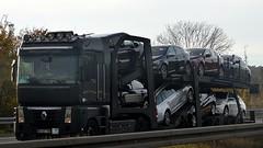 P - nameless Renault Magnum (BonsaiTruck) Tags: nameless renault magnum cartransport autotransport lkw lastwagen lastzug truck trucks lorry lorries camion caminhoes