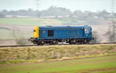 20205 near Daw Mill (robmcrorie) Tags: 20205 daw mill warwickshire class 20 panning nikon d850