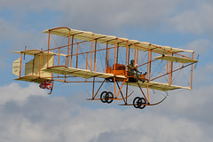 """Bristol Boxkite G-ASPP """"No 12A"""" (Tobyone1985) Tags: bristol boxkite gaspp no12a airshow aircraft avation biplane edwardian those magnificent men their flying machines shuttleworth 2019 history"""