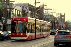 Farewell to the CLRV Streetcar (December 28, 2019) (wyliepoon) Tags: downtown toronto ttc transit streetcar tram light rail lrt trolley bombardier flexity outlook bathurst street