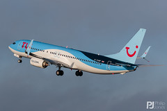 TUI 737-800 G-TAWF (philrdjones) Tags: 2019 737 737800 7378k5 aircraft airliner brs boeing bristolairport bristolinternationalairport december eggd gtawf lulsgate tui tuiairways