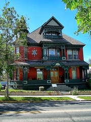 St Helena  -  Morris Silverman House - 412 N Rodney Street - Historic Mansion (Onasill ~ Bill Badzo - New Format) Tags: outside design bar sunset beach waterski flower nature blue night white tree green flowers portrait art light snow dog cat sun clouds park winter landscape street summer sea city trees yellow lake people bridge family bird river pink house car st helena morris silverman mansion 413 n rodney county historic landmark nrhp montana mt victorian architecture style russian jewish jew immigrant school teacher south central district capola onasill garden