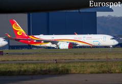 B-308G Airbus A350 Hainan Airlines (@Eurospot) Tags: airbus a350 lfbt tarbes lourdes a350900 b308g hainanairlines blgf