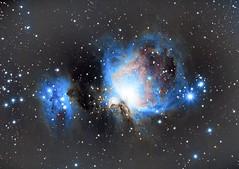 The Great Nebula of Orion (to be continued) (acsimagez) Tags: stars astro astrophotography astronomy amateurastronomy man pentax great running nebula orion m42 sa wo starrynight skywatcher williamoptics staradventurer hungary tamron tamron70200 pentaxian pentaxk1 astrometrydotnet:id=nova3860971 astrometrydotnet:status=solved
