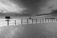 Pahlbauten (spityHH) Tags: 2019 a7ii sony kase kasefilters ndfilter ebbe sand strand stpeterording spo nordsee
