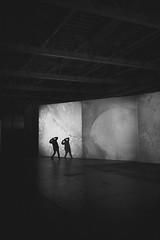 Un enfant de 30 ans (MEOT Youri) Tags: lyon biennale art usine fargot bnw nb noiretblanc noirblanc bw bokeh black blackandwhite contrast contraste silouhette canon canon5dclassic canon5d sigma35mm austaire