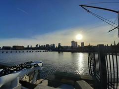 Boston sunset (angelinas) Tags: boston sunset traveling travelplanet travelphotography usa