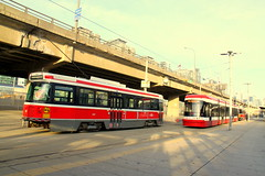 Farewell to the CLRV Streetcar (December 28, 2019) (wyliepoon) Tags: downtown toronto ttc transit streetcar tram light rail lrt trolley canadian vehicle clrv retirement bombardier flexity outlook bathurst street national exhibition loop cne