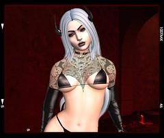 Madame X (beccaprender) Tags: catwa catya bento maitreya lara session rose limerence ghoul suicidalunborn conviction xo vobe endlesspain demon fantasy