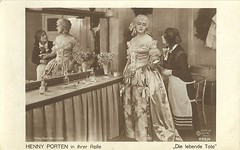 Henny Porten in Die lebende Tote (1919)
