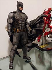Batman - Tactical Batsuit : Justice League (becauseBATMAN) Tags: hot toys batman 16 one sixth figure bruce justice league batsuit cape wired custom