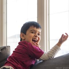 Daddy Takes Photo (shahnc) Tags: jubilance flickrfriday nikon d750 50mm portrait winnipeg manitoba canada boy kid smile joy naughty love son young