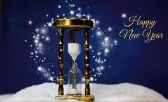 Sands of Time (*Millie* (On and Off)) Tags: happynewyear christmas christmaseve clock sand stars weeklytheme flickrlounge time 2020 golden clockortime canoneosrebelt6i ef50mmf18stm milliecruz picmonkey