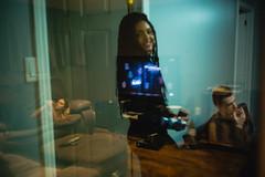 (Džesika Devic) Tags: leica friends portrait girl reflections m240 people braids