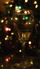 Good Times (Becca_marsh) Tags: good time withfriends drink lights bokeh christmas tree wine glass green white red drinkup raiseaglass memories toast