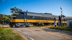 First Grade (dscharen) Tags: funits fp9s gp20 illinois kjry keokukjunction mapleton trains streamliners pioneerrailcorp keokukjunctionrailway centralillinois