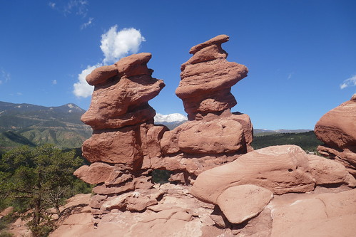 Colorado Springs - Garden of the Gods and Pikes Peak