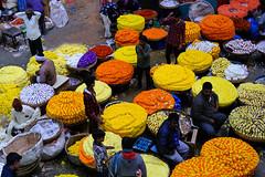 Flower market at Chickpet, Bengaluru, Karnataka (Koshyk) Tags: flowermarket flowermandi poomandi bangalore bengaluru krmarket chickpet