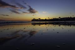 Glassy Sand (eXplore) - Happy New Year! (---ZaBBeY---) Tags: ocean pacificocean california santabarbaracounty santabarbara sunset cloudsstormssunsetssunrises cloudsstormssunsetsunrise 80d 80 canoneos80d canon80d 1635usm 1635f4 1635f4l 1635 canon1635usm cali southerncalifornia socal water reflection reflectioninwater reflections mirrorreflection clouds silhouette sand beach beachscape leadbetterbeach