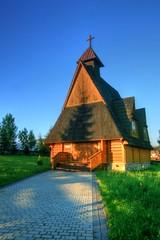 The Chapel (Siuloon) Tags: chapel architektura architecture architettura tatry ząb furmanowa zakopane kościół church sunrise building budynek