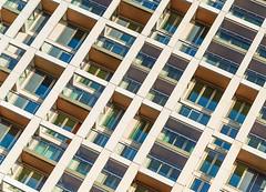 The grid living (jefvandenhoute) Tags: belgium belgië antwerpen light grid wall windows antwerpenzuid