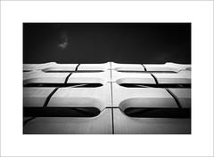 facade (ekkiPics) Tags: bmwworld architecture blackandwhite facade munich parking silverefx