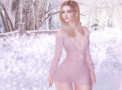 Cold mornings, warmth in dressing (Rose Sternberg) Tags: liz shape for genus bento project baby face head maitreya lara body second life event 2019 style nerido cute elegant doux babyrose hair marketplace hairstyle rose uber avaway necklace mylene