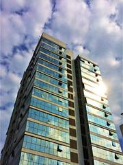 High rise building EXPLORED 1.1.2020 (vharishankar) Tags: highrise chennai sky glass sunlight building
