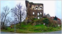 Ruine der Burg Ritschan (Christoph Bieberstein) Tags: tschechien tschechische republik böhmen mittelböhmen europa europe czech republic bohemia čechy česko ceská republika středočeský kraj říčany ritschan zřícenina říčanského hradu burg burgruine gotik