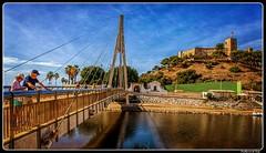 Fuengirola_Castillo Sohail_Rio Fuengirola Pedestrian Bridge_Costa del Sol_Provincie Málaga_ES (ferdahejl) Tags: fuengirola castillosohail riofuengirolapedestrianbridge costadelsol provinciemálaga es dslr canondslr canoneos800d