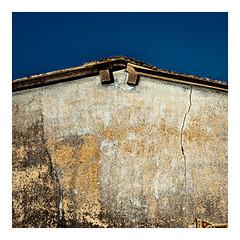 Roof (Werner Demming) Tags: wernerd dach first textur blue mft microforthirds