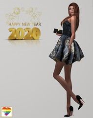 Happy New Year! (Brandy Madison) Tags: sissboom truthhair staroutlet lsr mosquitosway newyear happynewyear sl secondlife transgender transgendermodel model sexy fashion style beauty glamour femmefatale pretty feminine girl woman hairstyles highheels lgbt tgirl diversity gender pride
