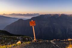 La via dell'anno nuovo (cesco.pb) Tags: valleaurina alba dawn speikboden altoadige sudtirol alps alpi sunrise italia italy canon canoneos60d tamronsp1750mmf28xrdiiivcld montagna mountains