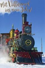 Full Steam Ahead Into The New Year (ivlys) Tags: silvester neujahr newyear lokomotive ivlys