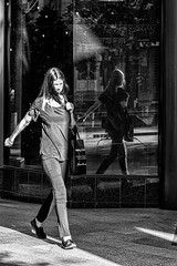 Front and rear view (Chris (a.k.a. MoiVous)) Tags: streetphotography adelaidecbd streetlife commuters