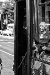 Mirror Mirror (Chris (a.k.a. MoiVous)) Tags: streetphotography adelaidecbd streetlife commuters