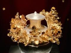 Alexander VI 's Golden Grave Crown (Sir Zexri) Tags: greekhistory ancientmacedontomb vergina alexanderthegreat goldengravecrown μακεδονια macedoniagreece macedoniatimeless makedonia macedonian macédoine
