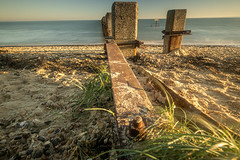 Seen better days? (daveknight1946) Tags: essex shoeburyness eastbeach boom riverthames