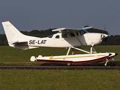 Private | Cessna U206G Stationair II | SE-LAT (MTV Aviation Photography) Tags: private cessna u206g stationair ii selat cessnau206gstationairii saxonair norwichairport norwich nwi egsh canon canon7d canon7dmkii