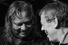 Marcel Scherpenzeel & Gerry McAvoy (Band Of Friends) (Russell Photographic Images) Tags: thecluny newcastleupontyne music gigs livemusic blackandwhite bandoffriends marcelscherpenzeel gerrymcavoy