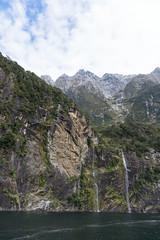 Bridal Veil Falls, Milford Sound, Fiordland National Park (b-noy) Tags: bridalveil bridalveilfalls fiordland fiordlandnationalpark juzycruise milford milfordsound nationalpark newzealand southisland cruise fiord