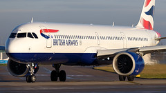 G-NEOR British Airways Airbus A321 (Ian Marsh 787) Tags: gneor british airways airbus a321 neo aviation plane jet runway manchester airport egcc nikon d810 nikkor afs 300mm