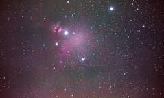 Flammennebel und Pferdekopfnebel im Gürtel des Orion . Aufgenommen am 31.12.2019 in Berlin! Daher die etwas schlechte Qualität😉 (mathias.goedeker) Tags: orion pferdekopfnebel flammennebel astronomie astrophotography nebula deepsky deepspace astronomy