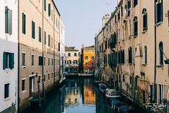 Streets of Venice (Tom Simcock) Tags: venice sonya6000 sonyfe28mm fe28mm italy canal buildings river boats cityscape citylandscape europe reflection sony a6000 sunlight summer